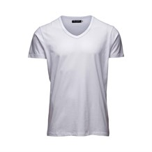 JACK AND JONES 12059219 ERKEK CASUAL T-SHIRT  KIRIK BEYAZ