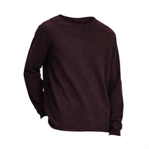 JACK AND JONES 12137172 ERKEK CASUAL TRİKO  BORDO