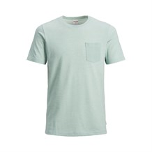 JACK AND JONES 12152216 ERKEK CASUAL T-SHIRT  MAVI