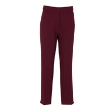 TULIN 68259 BUYUK BEDEN PANTOLON  BORDO
